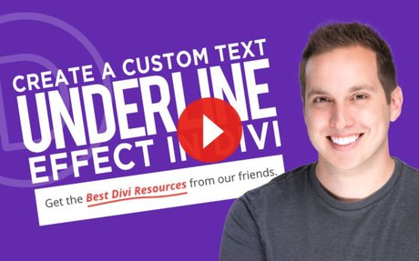 How to Create a Custom Text Underline Effect
